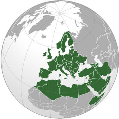 Europe, Middle-East, Afrida