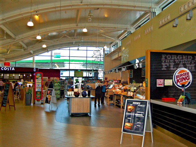 Applegreen Rest Stop - Interior