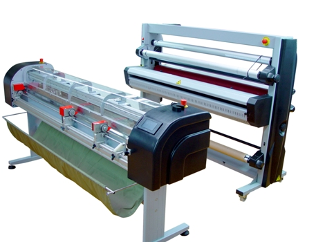 Atlas WF laminator with in-line cutter