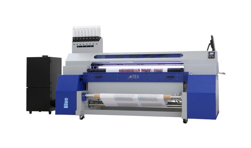 The MTEX Blue dye sublimation printer