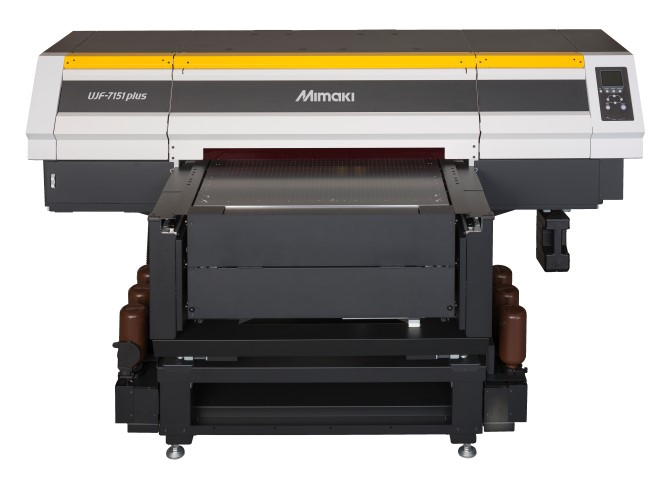 The Mimaki UJF-7151 Plus LED UV printer
