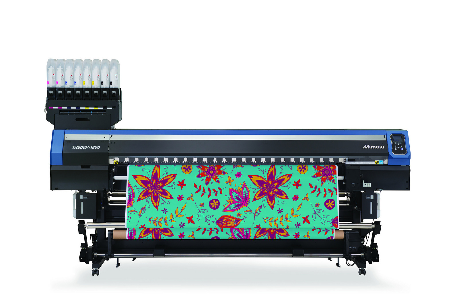 Mimaki's new Tx300P-1800 wide format textile printer