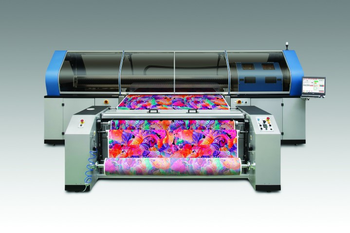 The new Tiger-1800B industrial textile printer will make its debut at Heimtextil