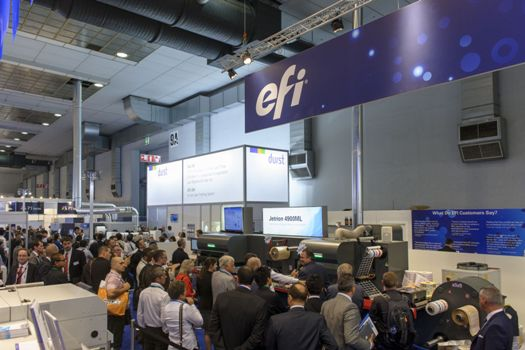 Labelexpo Europe will feature several feature areas with live working machinery