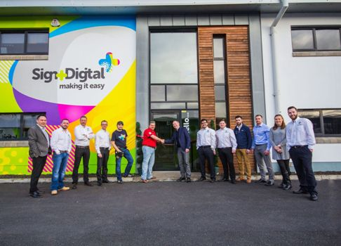 The Official Opening of the new Sign and Digital Creative Centre in Antrim