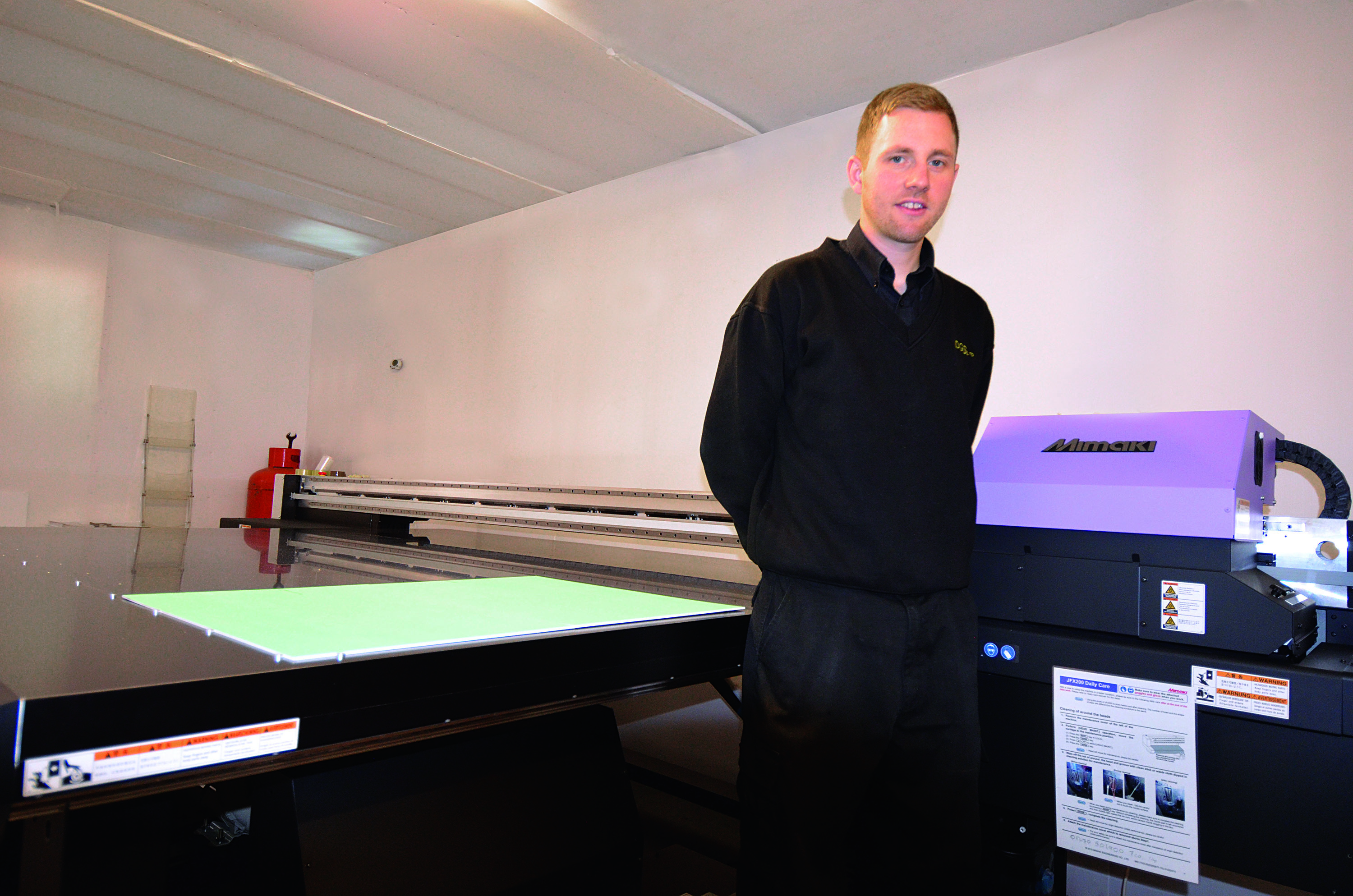 Print Manager at DGS Supplies, Matt Shaw