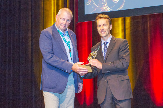 Eshuis BV winner of Award for Innovation under 300 employees