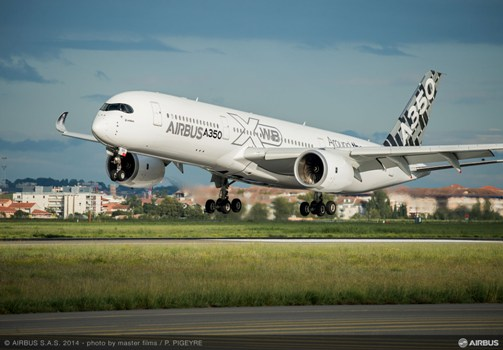 Airbus has produced more than 1000 flight parts on its Stratasys FDM 3D Production Systems for use in the first-of-type A350 XWB aircraft
