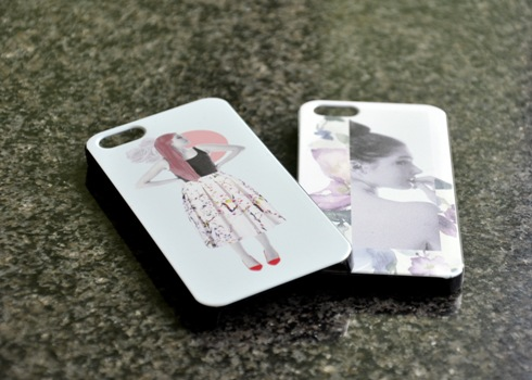 iPhone cases printed by the students with Mimaki UJF-3042