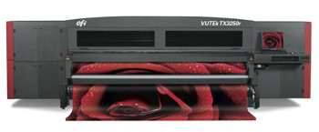 EFI VUTEkR TX3250r fabric printer