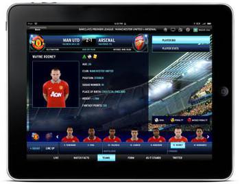 Sky Sports Football Match Centre Player bio