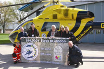 Ian-Board-and-Mel-Rowden-with-the-Wiltshire-Air-Ambulance-1