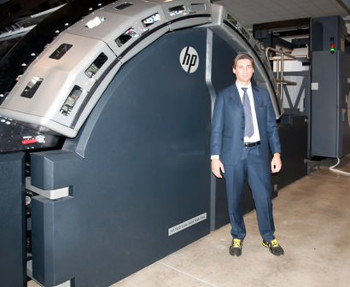 Rotomail Italia Invests in an HP T410 Color Inkjet Web Press to Increase Production, Reliability and Flexibility