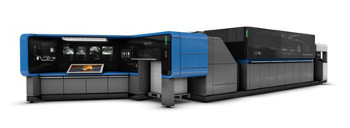 The Landa S10C Nanographic PrintingT Press for commercial printers