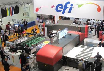EFI VUTEk HS100 Pro UV inkjet press