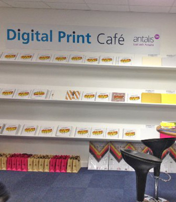 The new Antalis Rapidity Digital Cafe