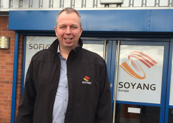 David Hunter re-joins Soyang Europe as Sales Manager