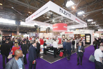Hybrid - Mimaki stand at Sign & Digital UK