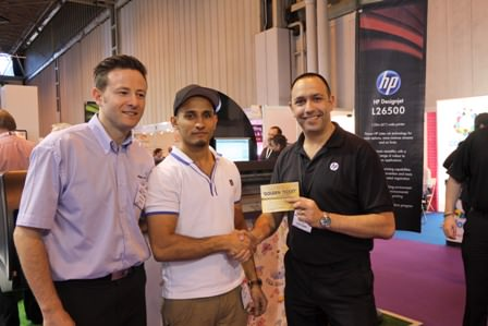 Ramzan Anwar, DrWraps with his golden ticket